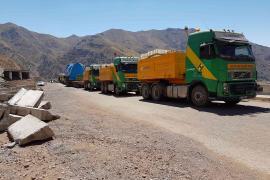 Hareket, Özbekistan'da Kombine Çevrim Elektrik Santrali taşımalarını gerçekleştiriyor