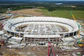 Kamerun Japoma Sport Complex Projesi devam ediyor