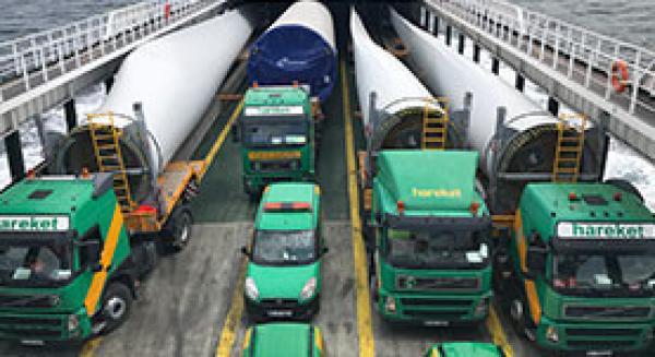 Nordex-Esenköy Rüzgar Türbin Taşıma ve Montaj Projesi